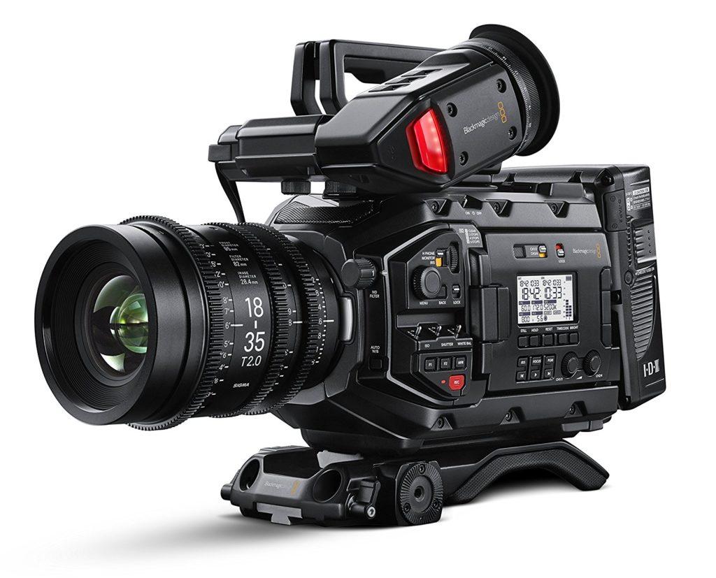 4. Blackmagic Design URSA Mini Pro 4.6K Camera with EF Mount