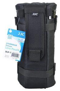 JJC DLP-7 Deluxe Lens Pouch Bag Case