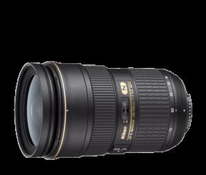 Nikon 24-70mm f/2.8G ED-IF AF-S NIKKOR Lens