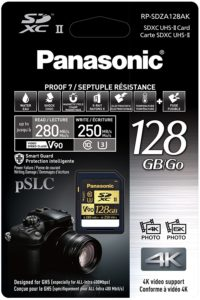 Panasonic Lumix 128 Gb SD Card