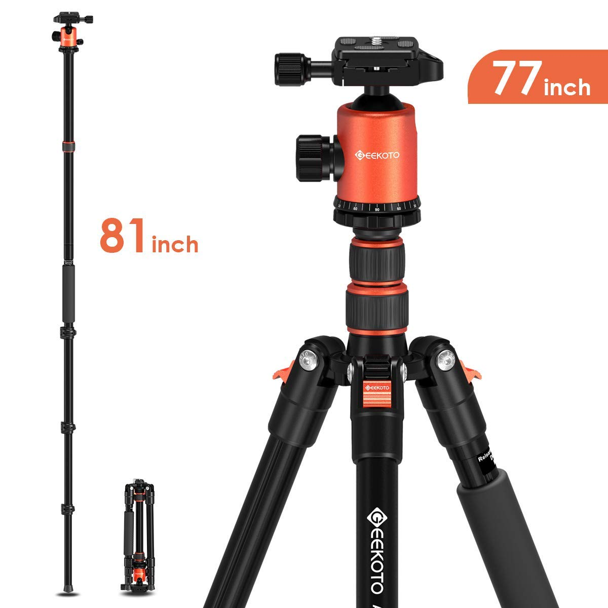 Navitech Lightweight Aluminium Tripod Compatible with The SUNLEO Small Zoom Compact Camera